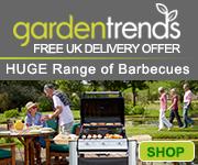 Garden Trends - Garden Furniture, BBQs, Benches, Wellies