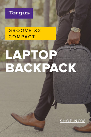 Targus Groove X2 Compact Laptop Backpack - Shop Now