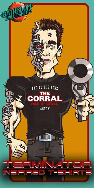 Terminator movie T-shirts