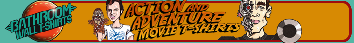 Action movie T-shirts