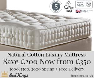 £200 off Natural Luxury Mattress