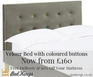 Bed Kings Camden Grey Bed