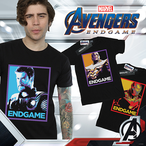 Official Avengers Endgame T-Shirts by Absolute Cult