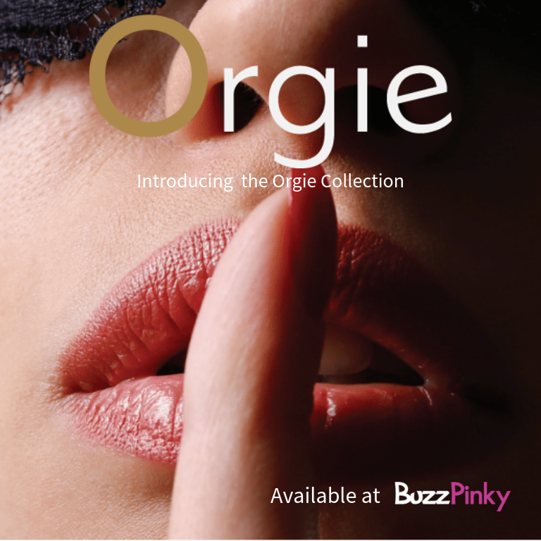 Orgie Lubricants Now Available at BuzzPinky