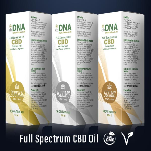 CBD Oils 100% Natural Vegan Friendly