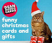 Funny and rude Christmas cards and gifts