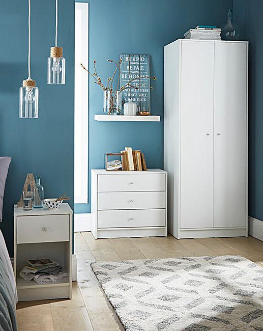 Malham White Bedroom Range