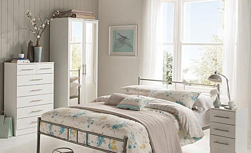 Humber White Bedroom Range