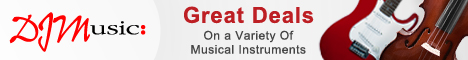 DJM Music Great Deals on a Variety of Musical Instruments