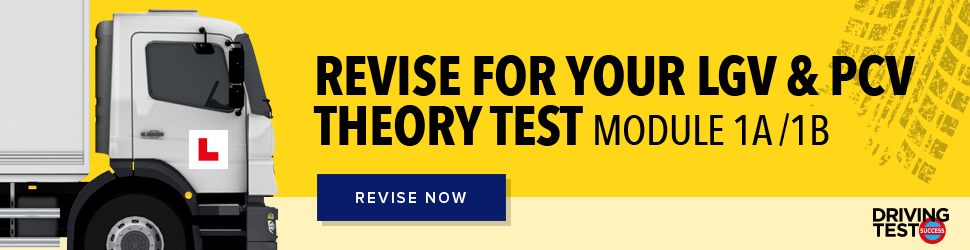 Revise LGV PCV theory test