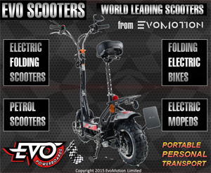 EVO Scooters - Exclusive Distributor of EVO powerboards