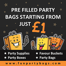 Pre Filled Party Bags starting from just £1