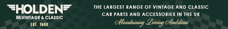 Holden Vintage and Classic Car Parts and Accessories