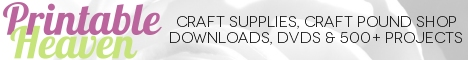 Craft Supplies, Craft Pound Shop, DVDs, Downloads and 500 Projects