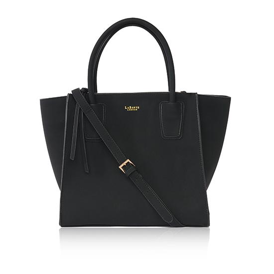 LaBante London Vegan Black Demi Shouler Bag