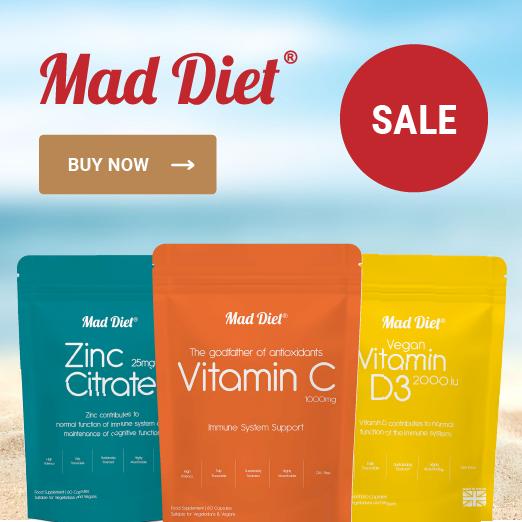 Mad Diet Sale Banner