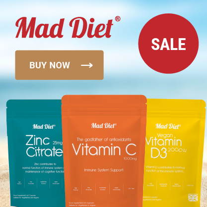 Mad Diet Sale Banner