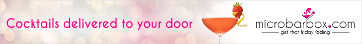 Cocktails delivered to your door banner .com logo