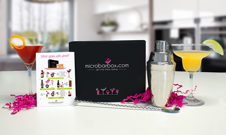 MicroBarBox with recipe card