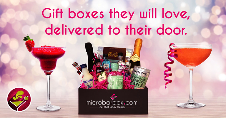 MicroBarBox gift boxes they will love