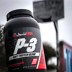 Muscle Rage whey protein P3