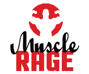 Vertical Muscle Rage Logo