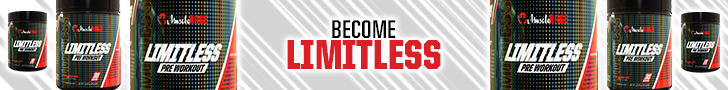 Muscle Rage Limitless Workout Supplement