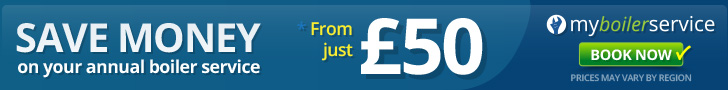 SAVE MONEY on your annual boiler service