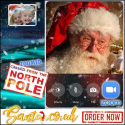 Zoom Call From Santa