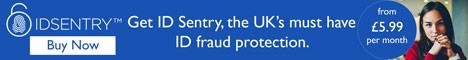Get ID Sentry the UKs must have ID fraud protection