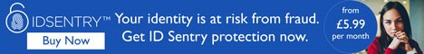 Your identity is at risk from fraud ID Sentry protection now