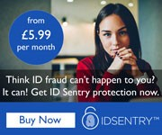 Think ID fraud cant happen to you. It can. Get ID Sentry protection now