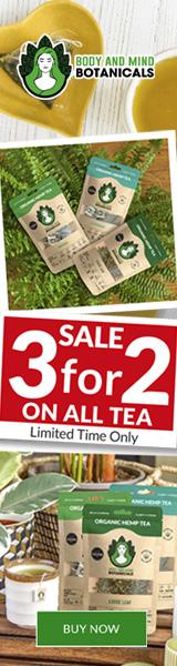3 for 2 on all CBD Tea