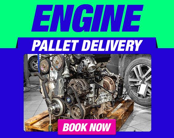 Send an Engine on a Pallet