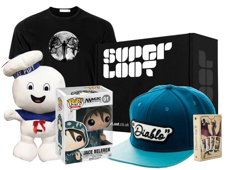 Super Loot - October Mystery Geek Box