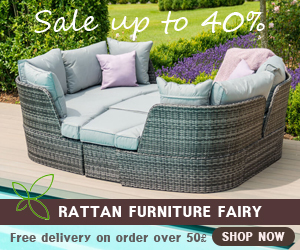 Maze Rattan Chelthenam Outdoor Daybed