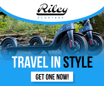 Riley Scooters - Static Banner
