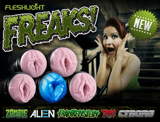 Scary gets sexy with the Fleshlight Freaks!