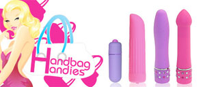 Gorgeously discreet Handbag Handies range from Loving Joy