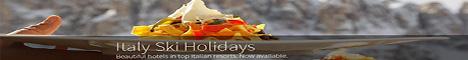 Italian Ski Holidays Now Available