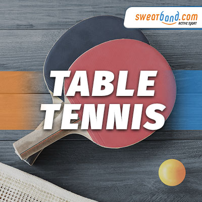 Table Tennis Equipment from Sweatband.com