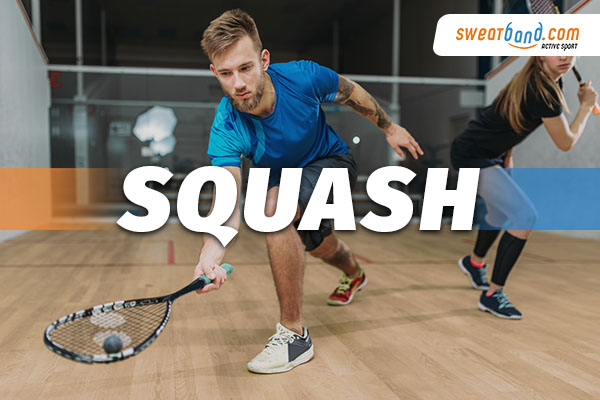 Squash Equipment from Sweatband.com
