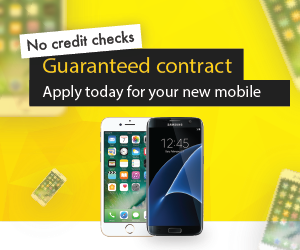 Apply now for a No Credit Check guaranteed Smart Phone contract from Sunshine Mobile