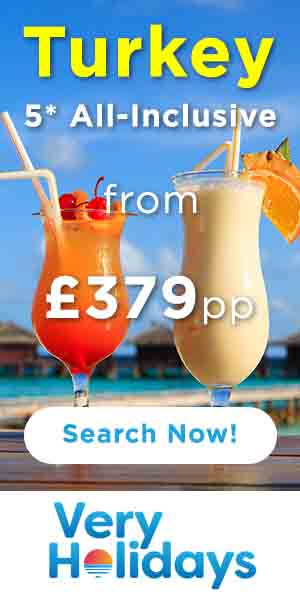 All inclusive deals to Turkey from only £379 per person