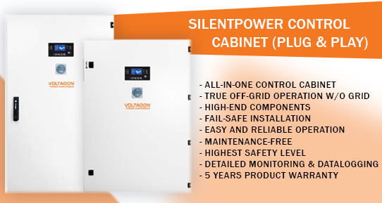 All in one Off-grid Control Cabinet