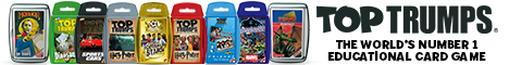 Top Trumps, Card Game, Family Game, Travel Game, Childrens Game, Game