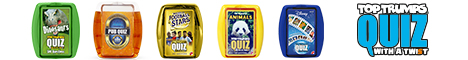 Top Trumps Quiz Game, Quiz, Trivia, Card Game, Family Game, Travel Game