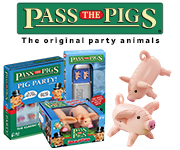 Pass the Pigs, Pass the Pigs Party, Dice Game, Points Game, Family game, travel game